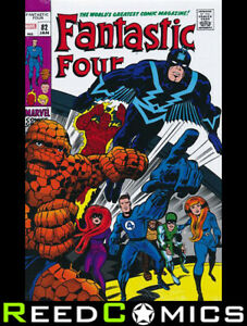 FANTASTIC FOUR OMNIBUS VOLUME 3 HARDCOVER JACK KIRBY DM VARIANT COVER *952 Pages