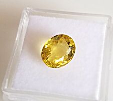 2.32 Ct. Natural Golden Beryl Heliodor Loose Stone Gemstone Oval Cut gemstone