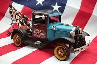 FORD TOW TRUCK tin toy tinplate car handmade blechmodell auto blechmodell