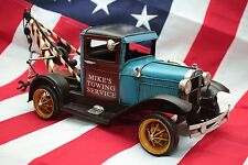 FORD TOW TRUCK  tin toy tinplate car handmade blechmodell auto