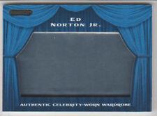 ED NORTON JR. 2010 Razor Pop Century CELEBRITY WORN WARDROBE Card #SW-23