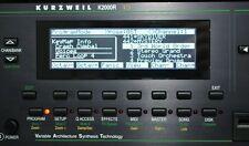 Yamaha TG-77 SY-77 SY-99 Kurzweil K2000 K2000R K2000VX display grafico!