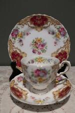 Vintage Tuscan Bone China Trio - Provence - Cup Saucer Plate - High Tea - RC