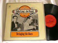 EDDIE LANG & JOE VENUTI Stringing The Blues Adrian Rollini Lonnie Johnson 2 LP