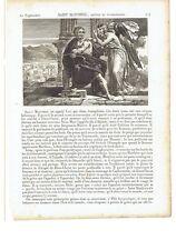 """1825 San Mateo el Evangelista """"Saint Matthieu"""" (Matteo Patron Monzón Salerno)"""