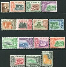 DOMINICA-1951 Set to 10/- Sg 120-134 UNMOUNTED MINT V35709