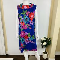 trina Trina Turk Sz 16 Sleeveless Floral Shift/Sheath Dress NWT $148