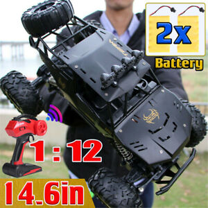 1/12 4WD RC Monster Truck Car Off-Road Vehicle Remote Control Crawler Buggy Toy
