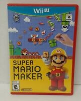 Super Mario Maker - Nintendo Wii U Game Tested & Working COMPLETE