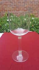 """CHRISTIAN DIOR crystal GAUDRON GOLD pattern WATER GLASS or GOBLET 7 7/8"""""""