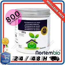 Bicarbonate de Soude 800g Bio 100% Naturel Entretien Nettoyant Maison Ménager