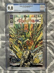 SHADE, THE CHANGING MAN #1 CGC 9.0 WHITE PAGES