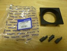 VOLVO GAUGE SURROUND BEZEL 240 242 244 245 81-93 RARE NOS NEW AND RUBBER FEET