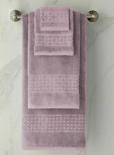 NEW Ralph Lauren 7 PC PIERCE Towel SET Wash Hand Bath Sheet APRIL PURPLE