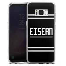 Samsung Galaxy S8 Silikon Hülle Case - Eisern 2 Union Berlin