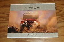 Original 2004 Jeep Wrangler Accessories By Mopar Sales Brochure 04