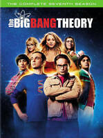 The Big Bang Theory: The Complete Seventh Season - DVD 3 disc New, Free shipping