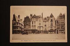 Carte postale ancienne CPA TOURS Place Plumereau, Vieilles Maisons 12è et 15è s.