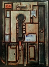 Tommervik Abstract Payphone Urban Telephone City Phone Painting
