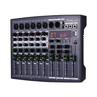 Muslady BX6 Compact 6 Channels Mixer Mixing Console with 16 DSP Effects P2Y1