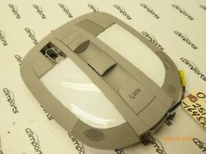 07-12 Mercedes GL450 R320 Front Roof Dome Reading Light Lamp GRAY OEM 1648703826