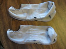 HUE Liner Socks, Thin Sport Socks Padded Heel & Toe w/Arch Clinch Gray Size 9-11