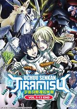 Uchuu Senkan Tiramisu [Space Battleship Tiramisu] DVD 1-13 (English Dub) USship