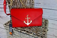 NEW Circus by Sam Edelman Sawyer Mini Wallet on a String Crossbody Red MSRP $48