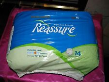 Reassure men  Women Disposable Underwear Adult Diapers 42-65 waist Incontinence
