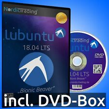 Lubuntu 18.04.5 LTS 32bit DVD Linux Betriebssystem Markenware