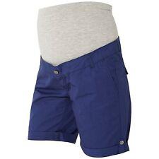 Mamalicious Andrea Umstandsmode Shorts, Twilight Blue Small RRP £ 40