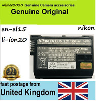 Genuine Original Nikon EN-EL15 Battery For D850 D7500D750 D810 D7200 D7000 D7100