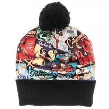 DC BOMBSheLLS Official Licensed Beanie POM POM Winter HAT Pin Ups Ant Lucia