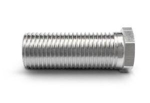 Hohl-Schraube kurz, Länge 25mm für Siebkorbventile M12x1,5mm für Ventil-Abläufe