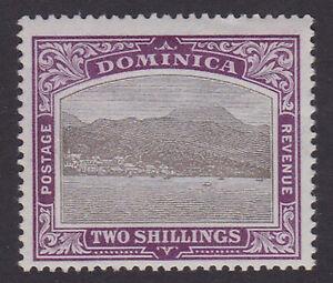 Dominica. SG 34, 2/- grey-black & purple. Unmounted mint.
