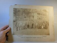 Mount Vernon-George Washington Home Original-Large Photograph Photo Late 1900s