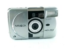 Minolta Vectis 260 APS Point & Shoot Film 2.6x Zoom