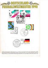 Deutschland Fußballweltmeister 1990
