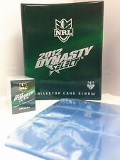 2012 NRL Dynasty Trading Cards Base Set (192)+ Official Album + 22 Pages