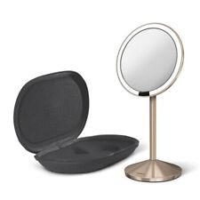 Simplehuman Mini Sensor Vanity Mirror Make-Up Travel Illuminated LED Rose Gold