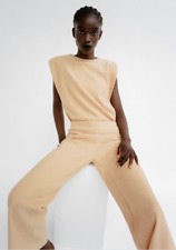 SET ZARA KNITTED SOFT-TOUCH TOP AND PANTS
