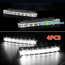 4x Vehicle 8 LED Daytime driving Light Car Running Bright DRL Kit Daylight AU