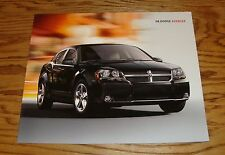 Original 2008 Dodge Avenger Deluxe Sales Brochure 08 8/7
