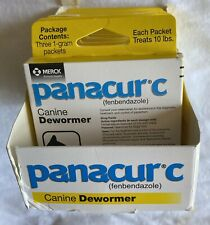 Panacur C Canine 10lbs. Dewormer Treatment 8Box