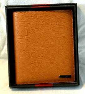 Tumi Horizon SLG Sunset Leather Passport Case #017571SUXO - NWOT