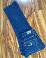SUPER SEXY HOT! Levis 512 Perfectly Slimming BootCut Jeans 6 Short W28 L27 DARK