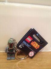LEGO  STAR WARS KEY RING BOBA FETT 850998