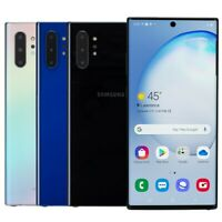 Samsung Galaxy Note 10+ Plus Unlocked Smartphone AT&T Sprint T-Mobile Verizon
