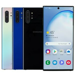 Samsung Galaxy Note 10+ Plus Smartphone AT&T Sprint T-Mobile Verizon or Unlocked