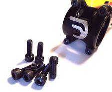 BLACK | M5 Road Bike, MTB Stem Bolts / Screws | Hex Socket Cap | 12.9 HT Steel